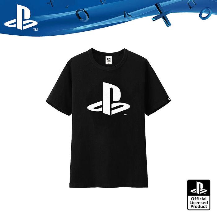 PlayStation 經典LOGO 黑潮原力T恤-極致黑(OLP-JBK-03)JBK-03M