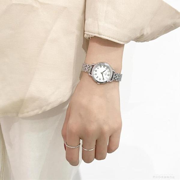 手錶 森系小清新手錶ins超火的女款氣質學院風文藝小錶盤細帶小巧手鍊 夏季新品