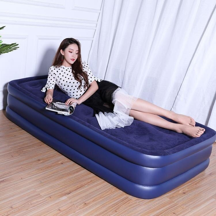 充氣床 氣墊床 充氣床墊雙人家用加大 單人折疊床墊加厚 簡易便攜床