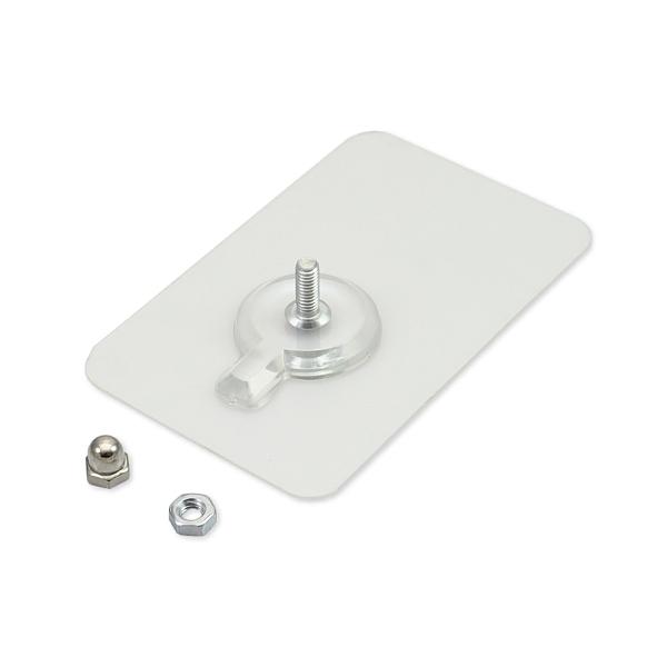 長形強力透明螺絲貼 螺絲貼掛勾 免打孔螺絲貼片 螺絲貼紙 強力螺絲貼 免釘螺絲貼