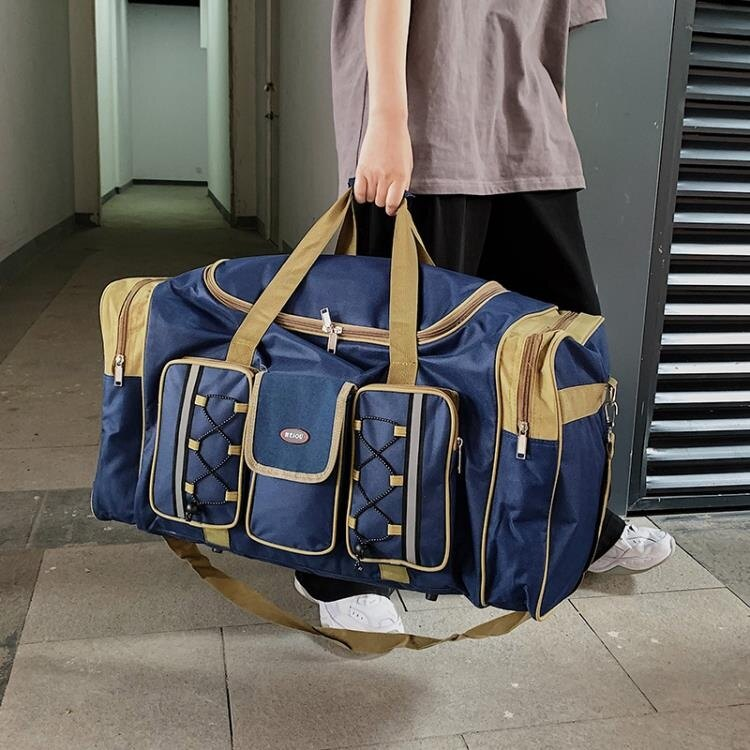 旅行包袋 手提男女士行李袋超大容量斜跨旅行袋出差旅游行李包搬家包 X