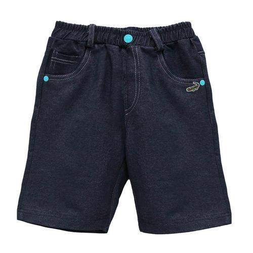Crocodile Junior『小鱷魚童裝』559630仿牛仔五分褲Ggo(G購)