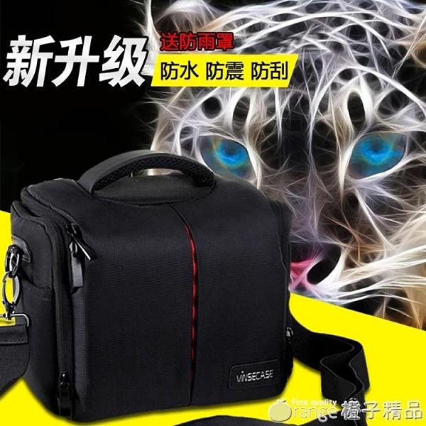 VINSECASE 佳能600D 650D 60D尼康D90單反相機包 單反 單肩攝影包 ( 璐璐)