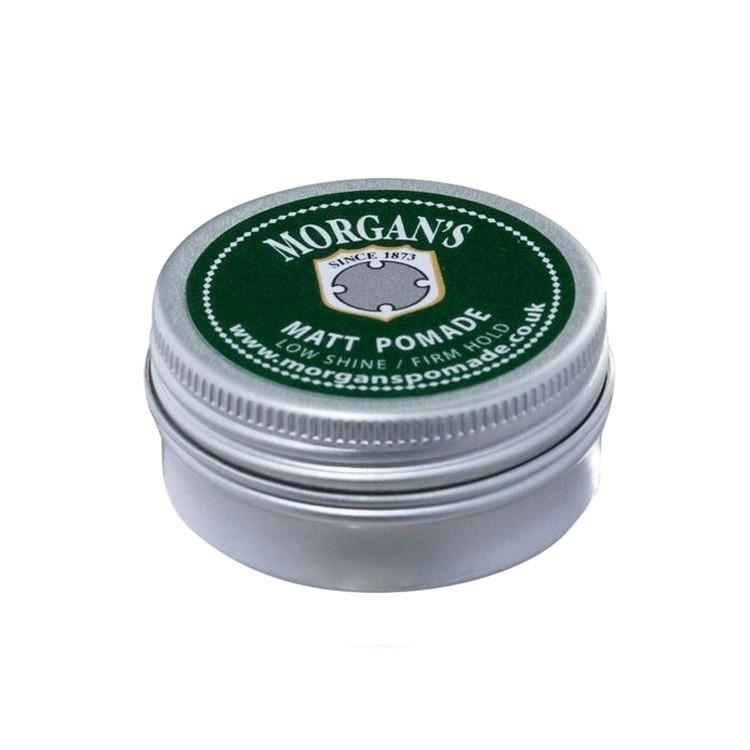 Morgan's 強力定型 霧面啞光 水洗式髮油(綠標)摩根水性油頭造型隨身髮油 古龍水香水香氛水洗復古髮品髮膠髮雕推薦