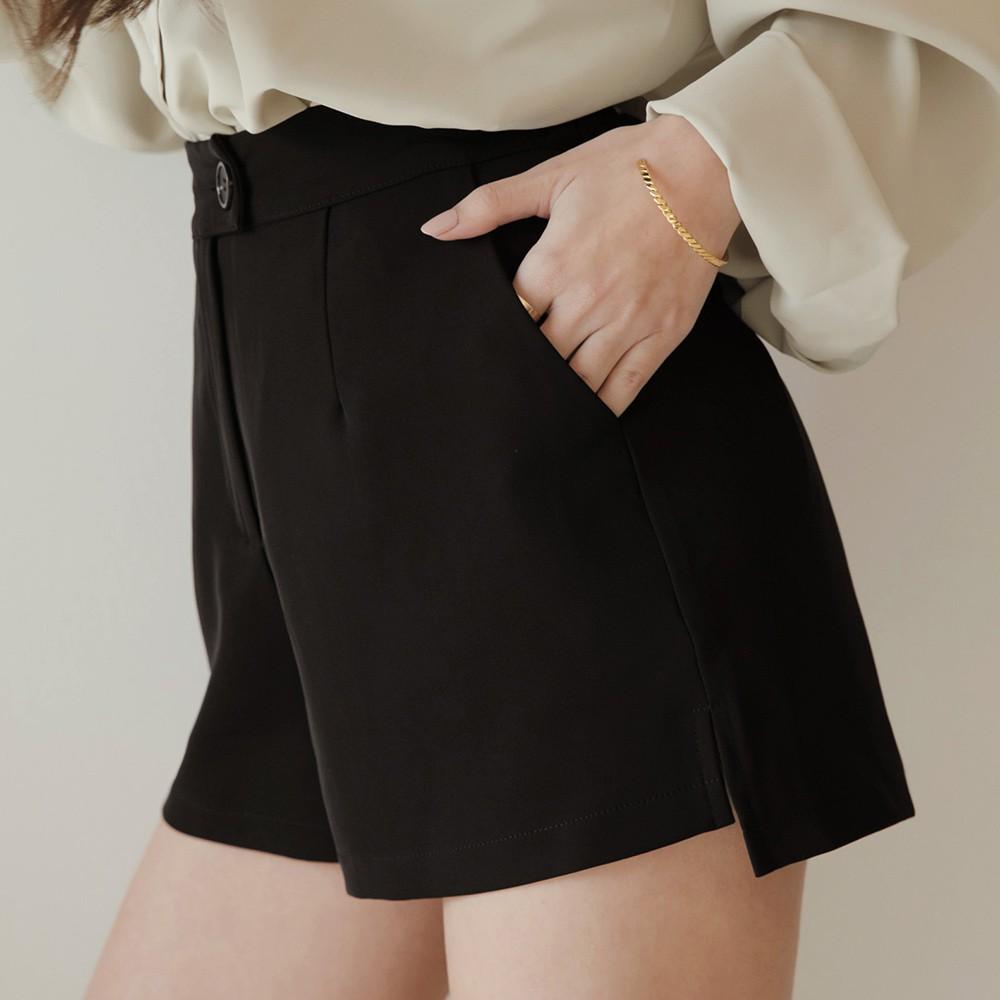 AIR SPACE LADY 長腿CEO修臀顯瘦西裝短褲(黑)