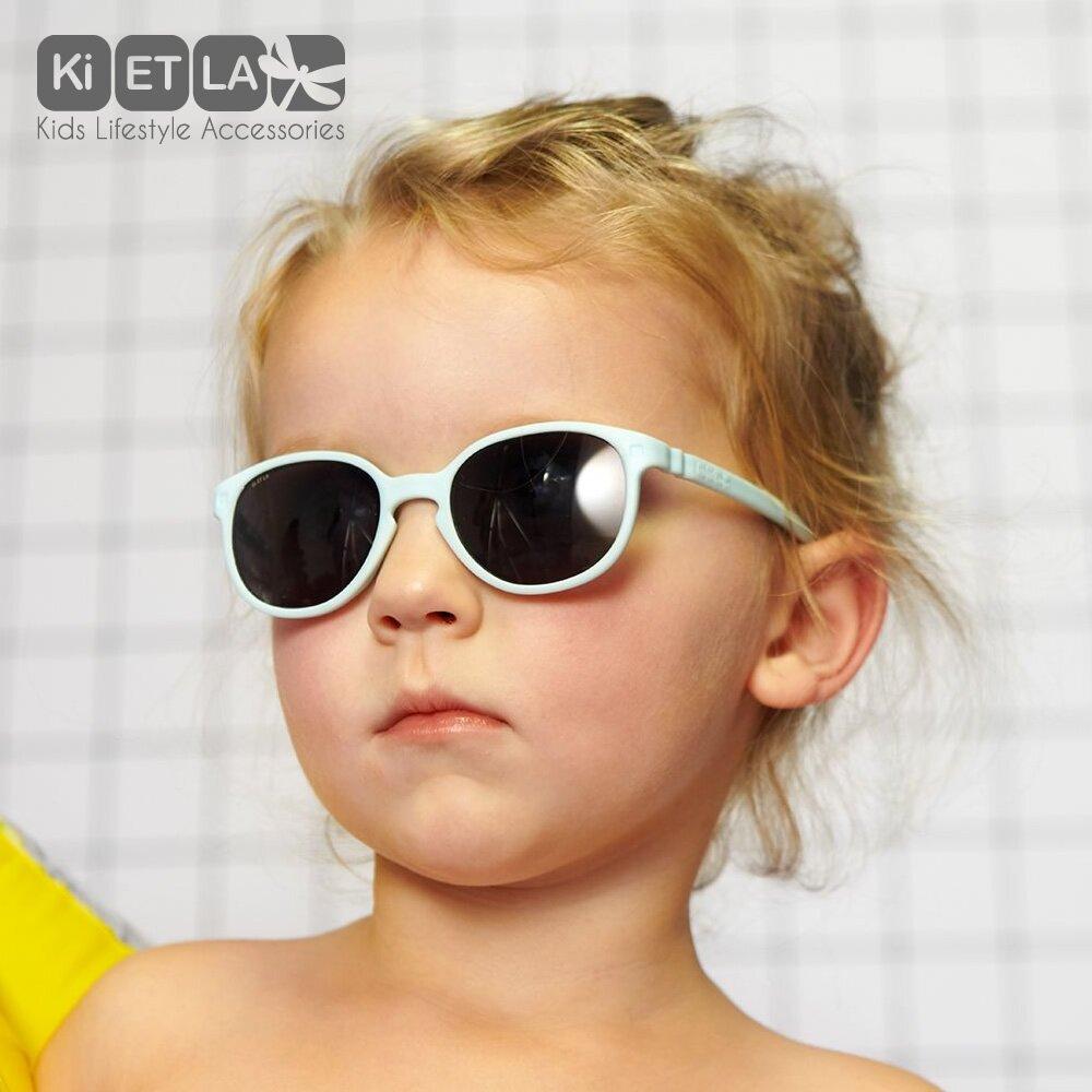 法國KiETLA-WAZZ瓦茲幼兒太陽眼鏡(1-4 years 愛麗絲藍)