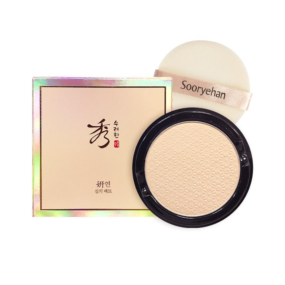 [秀雅韓]妍耀妍絲絨蜜粉餅 補充盒 SPF30 PA++ (12g)