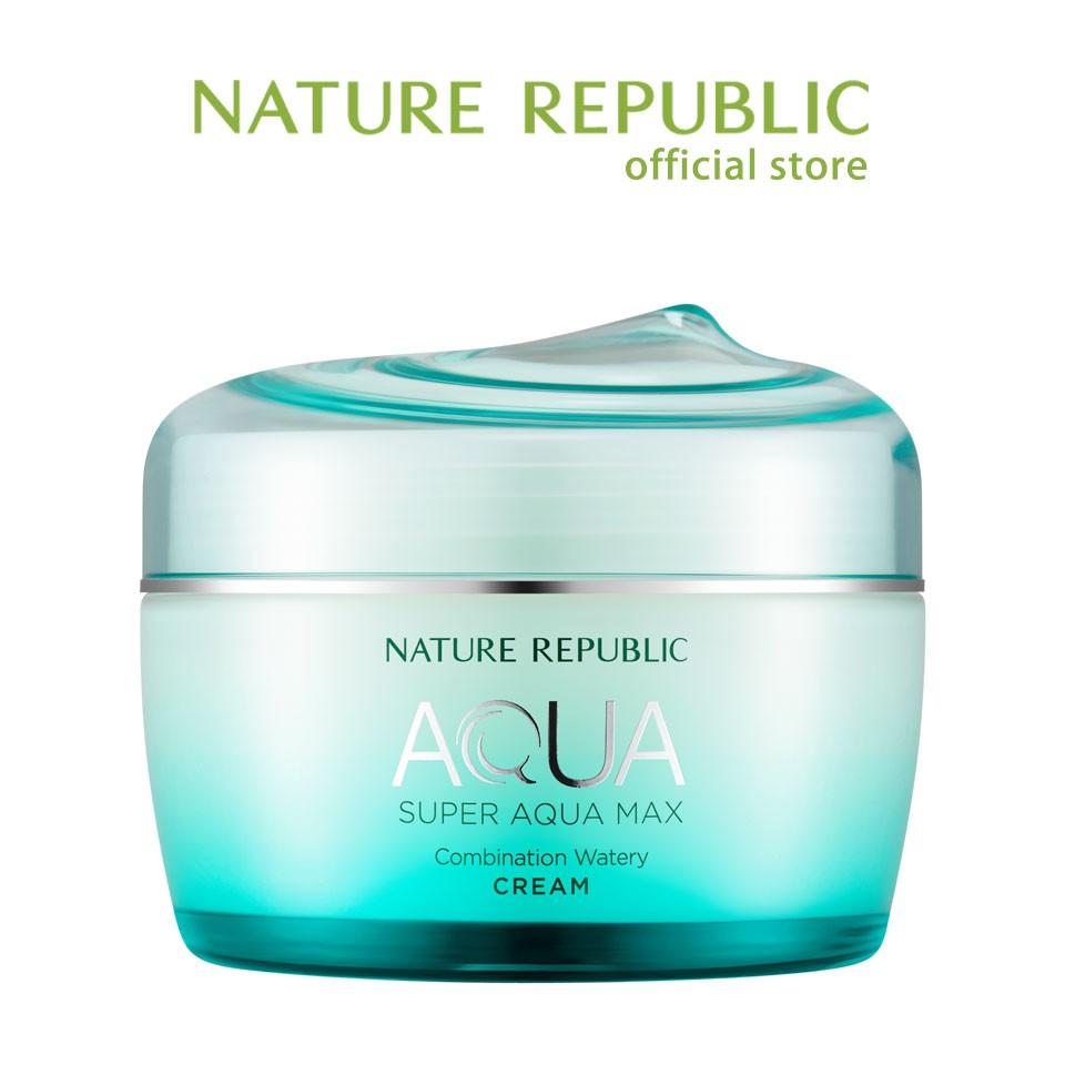 [Nature Republic] 海藍水潤調和乳霜 80ml 官方旗艦店