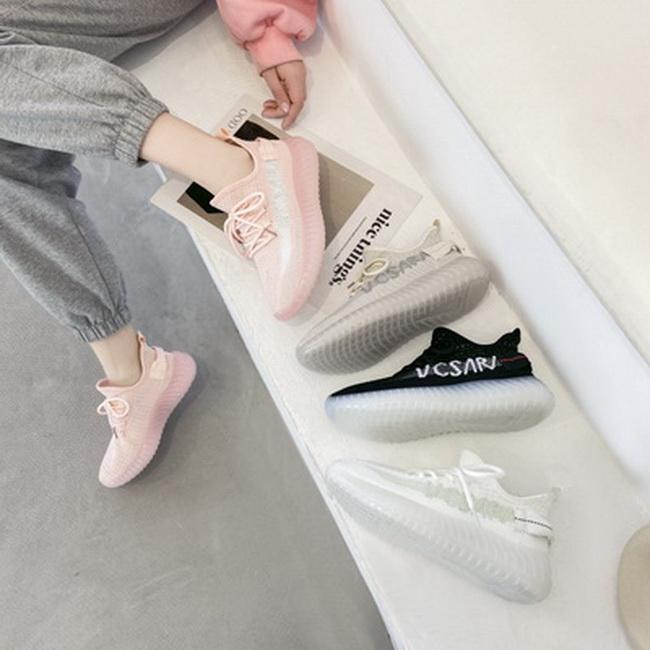 FOFU-(任2雙888)街頭潮流果凍底椰子鞋平底平跟運動鞋【02S13650】