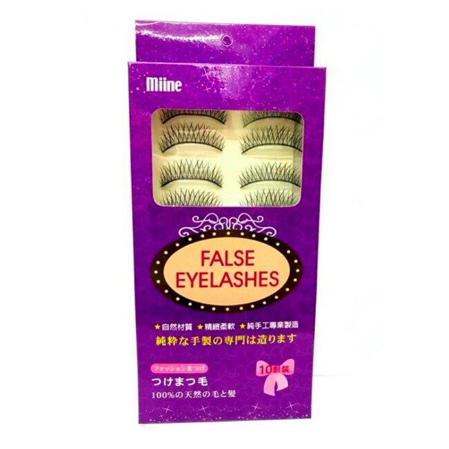 Miine 假睫毛-自然款 10對裝【屈臣氏】