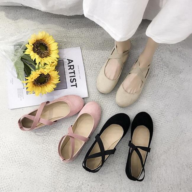 FOFU-浪漫仙女風芭蕾舞鞋瑪麗珍鞋【02S13577】