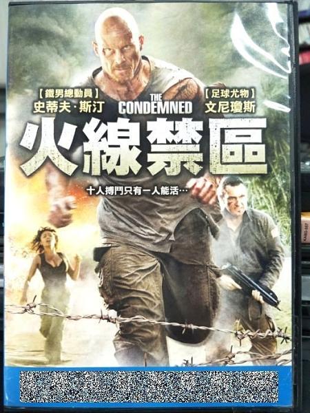 挖寶二手片-O04-059-正版DVD-電影【火線禁區】史蒂芬斯汀 文尼瓊斯(直購價)
