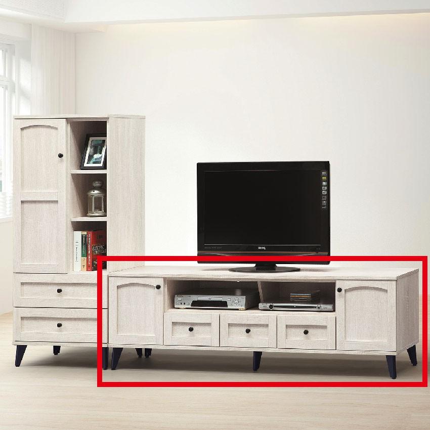 【152cm長櫃-E407-3】客廳組合長櫃 展示收納櫃 北歐工業風 TV櫃 【金滿屋】