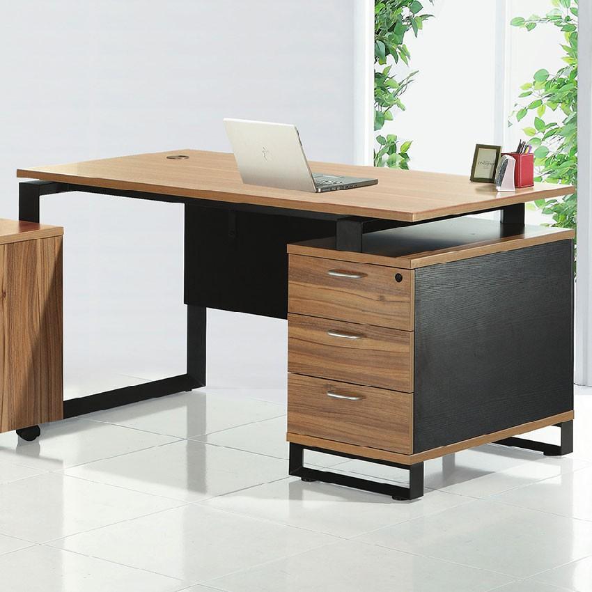 【140cm主管桌-E608-1】工作桌 辦公桌 學生書桌 主管桌 書櫃型書桌【金滿屋】