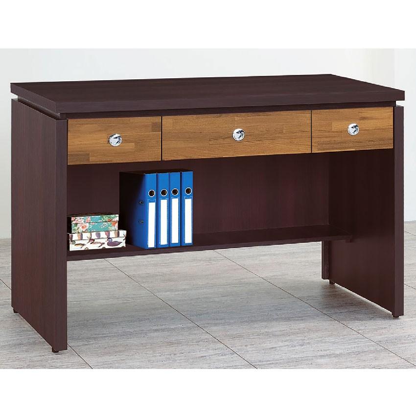 【120cm書桌下座-E624-7】工作桌 辦公桌 學生書桌 主管桌 書櫃型書桌【金滿屋】