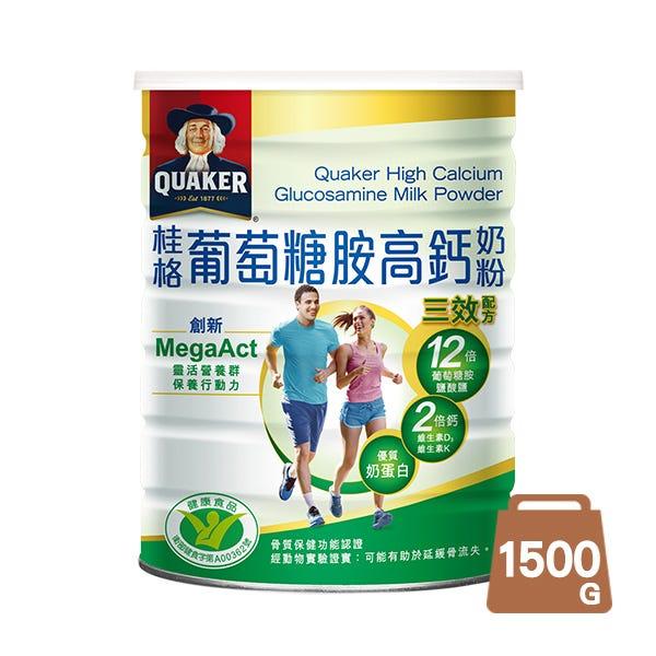 桂格葡萄糖胺奶粉1500gX1罐