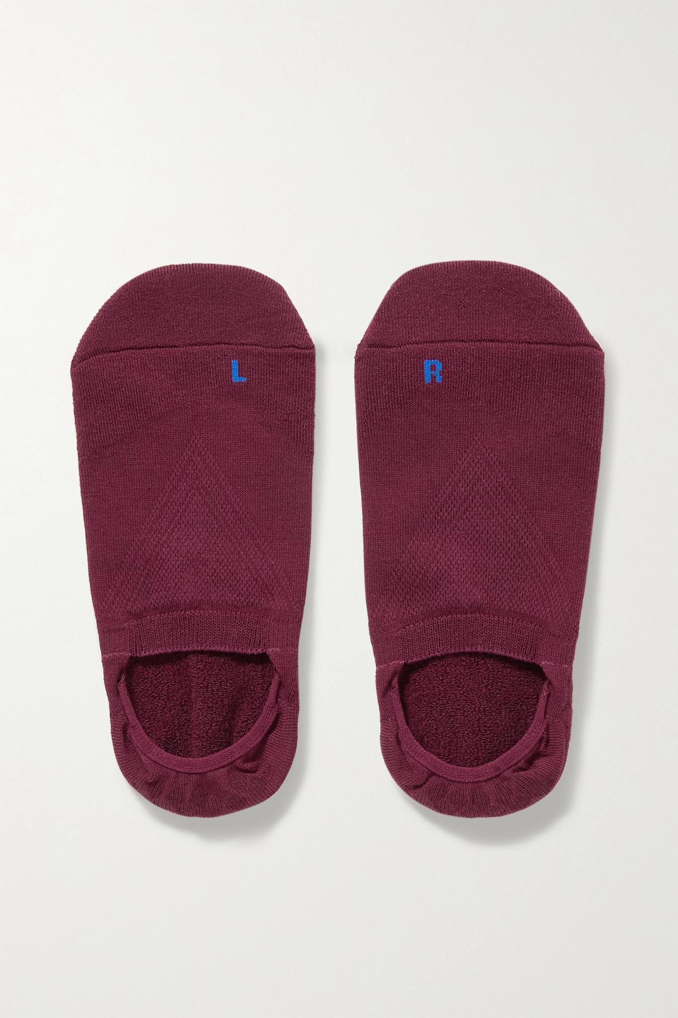 FALKE - Cool Kick 弹力针织袜子 - 紫色 - EU37-38