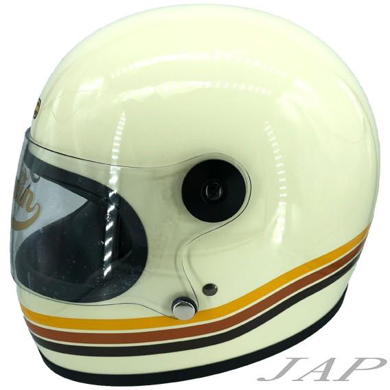 海鳥 PENGUIN 樂高帽 全罩式安全帽 寬嘴樂高 白三條《可再現金折價500元》