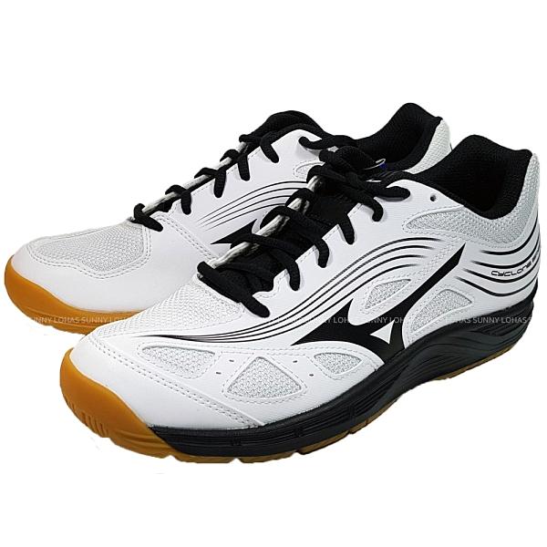 (C3) MIZUNO 美津濃 CYCLONE SPEED 3 排球鞋 V1GC218009 女 白 [陽光樂活]