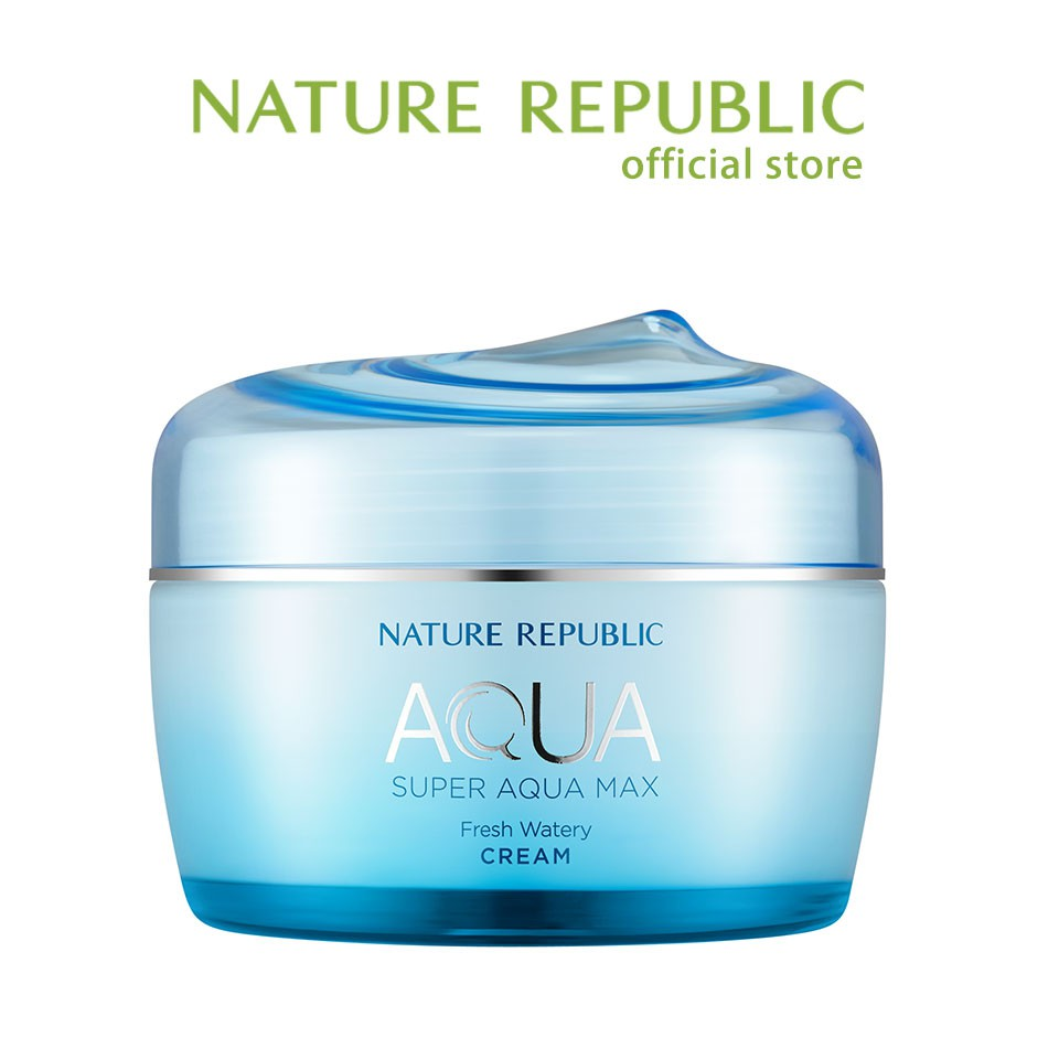 [Nature Republic] 海藍水潤清爽乳霜 80ml 官方旗艦店