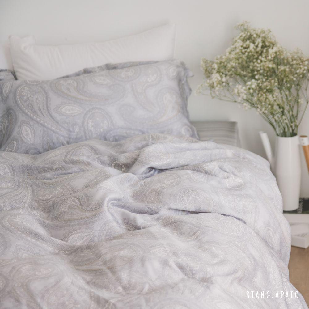 【預購】床包被套組(薄被套)-加大 / 100% TENCEL天絲™萊賽爾纖維 / Plankton