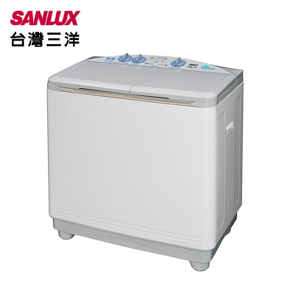 【SANLUX 台灣三洋】10/6.5KG雙槽洗衣機 (SW-1068U)
