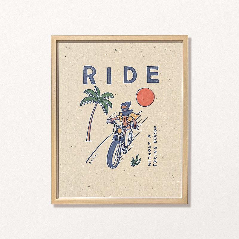 Salmo - RIDE - 印刷畫/複製畫/插畫/Print