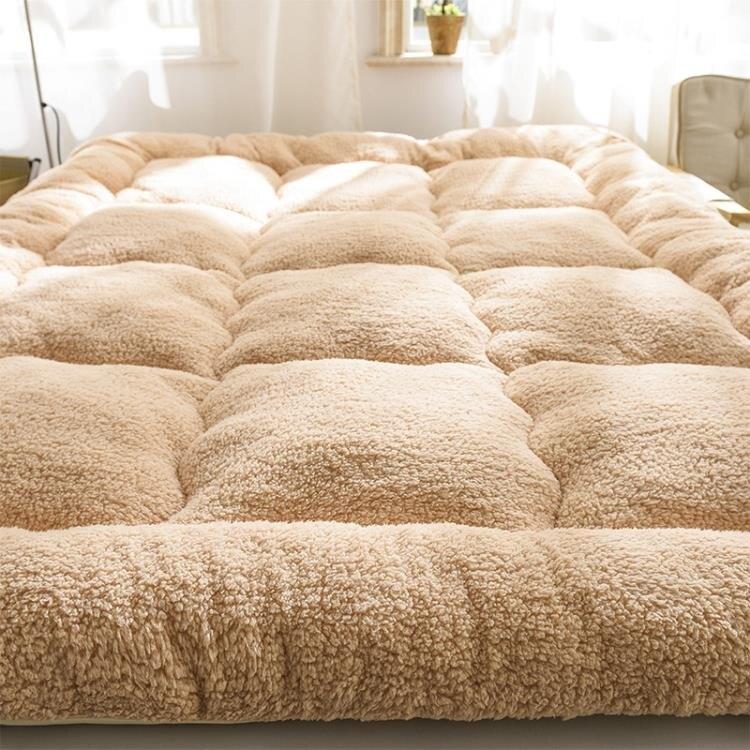 保暖秋冬季加厚床墊1.5米1.8m床2米褥子榻榻米墊 城市玩家