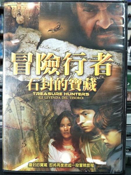 挖寶二手片-Z28-008-正版DVD-電影【冒險行者:石封的寶藏】-阿德里安阿隆索 約翰萊斯戴維斯(直購