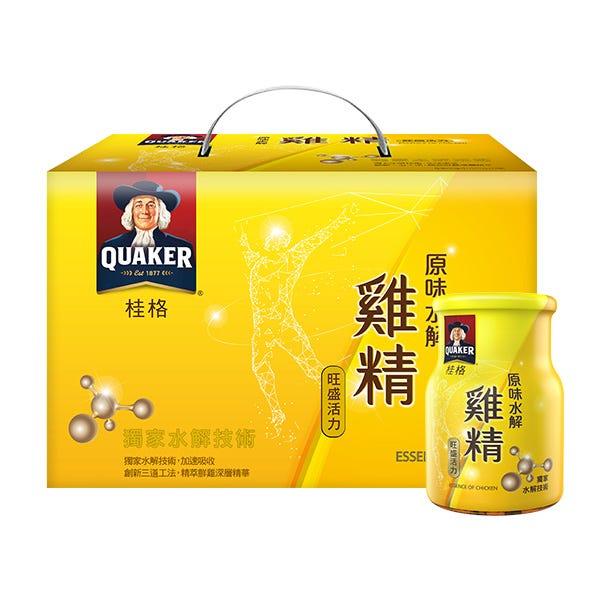 桂格原味水解雞精68mlX18瓶