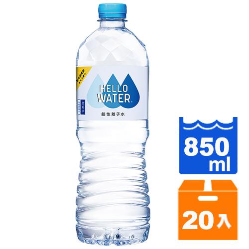 古道 HELLO WATER 鹼性離子水 850ml (20入)/箱