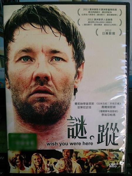 挖寶二手片-E01-015-正版DVD-電影【謎蹤】-泰瑞莎帕瑪 安東尼史塔(直購價)