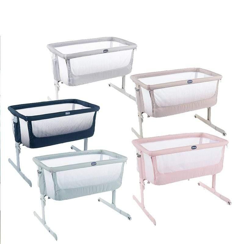 chicco-Next 2 Me多功能親密安撫嬰兒床邊床Air版 加勒比藍
