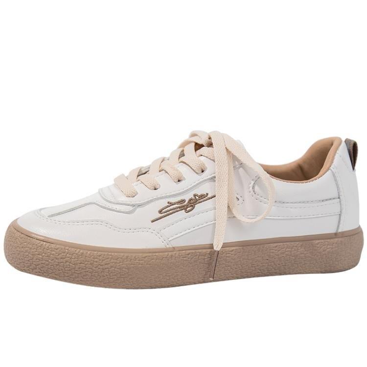 小白鞋 小白鞋女2021年春季女鞋新款ins潮百搭爆款休閒板鞋平底春秋白鞋 果果輕時尚