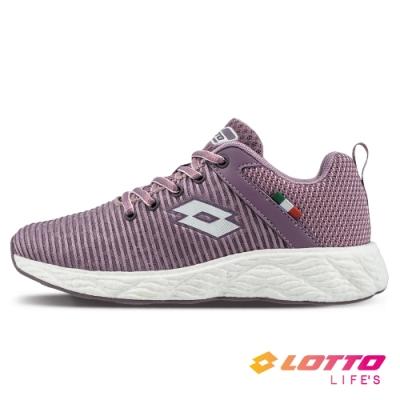 LOTTO 義大利 女 TRON創跑鞋(紫)