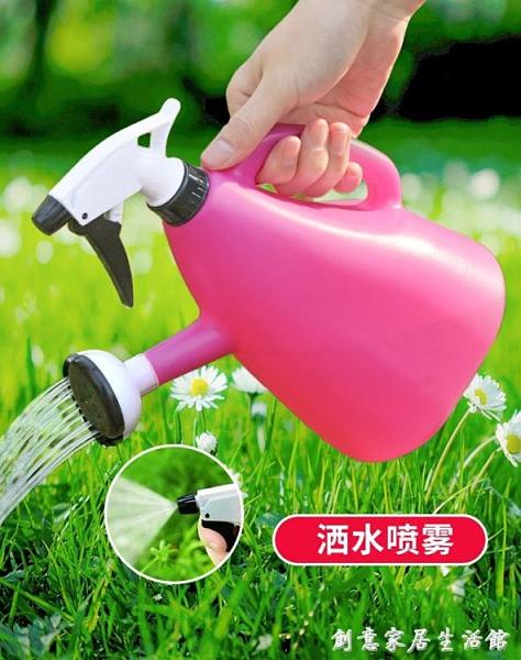 多功能噴壺灑水壺噴霧瓶噴水壺澆花家用室內養花園藝消毒加厚小型 創意家居