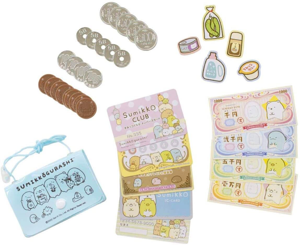 金錢遊戲組 MARUKA 角落生物 Sumikkogurashi san-x 兒童玩具 日本進口正版授權