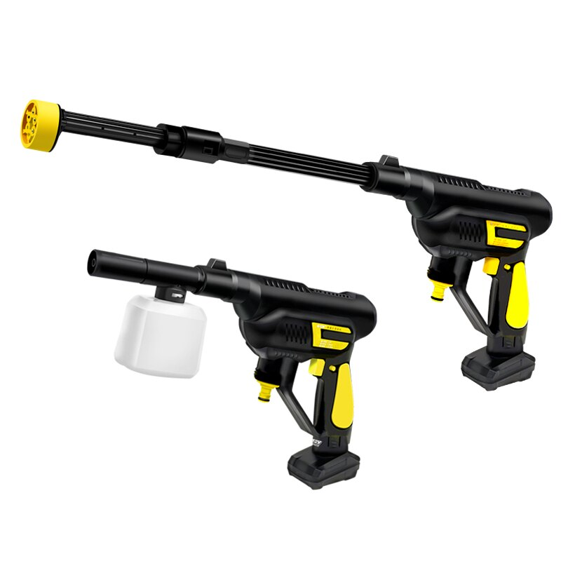 無線水槍 家用洗車水槍神器便攜式高壓泵可充電無線全自動清洗機套裝刷車泵T