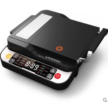 利仁LR-D4000電餅鐺110V國外專用雙面加熱家用電餅檔煎餅機烙餅鍋 【居家家】