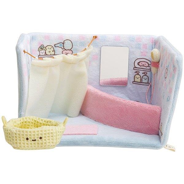 【角落生物 浴室】角落生物 浴室 絨毛娃娃擺飾 ss號專用 角落小夥伴 日本正版 該該貝比
