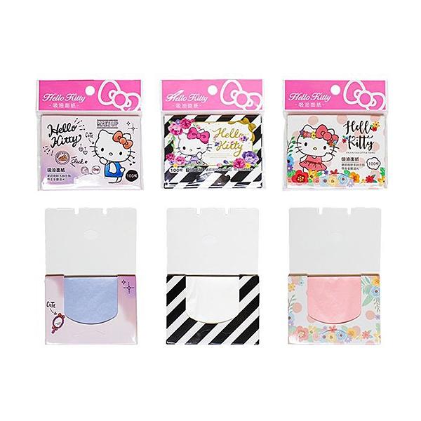 SANRIO 三麗鷗 Hello Kitty吸油面紙(100枚) 款式隨機出貨【小三美日】