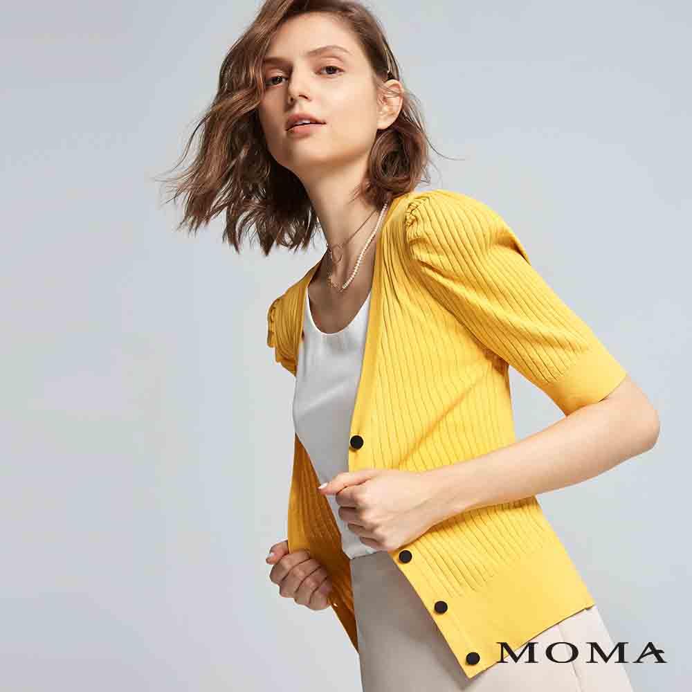 MOMA(01KJ18)羊腿袖針織外套