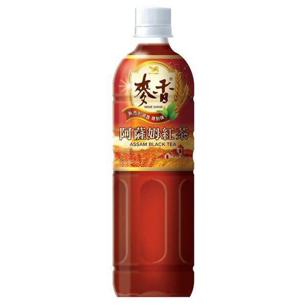 統一 麥香 阿薩姆紅茶 600ml (24入)/箱【康鄰超市】