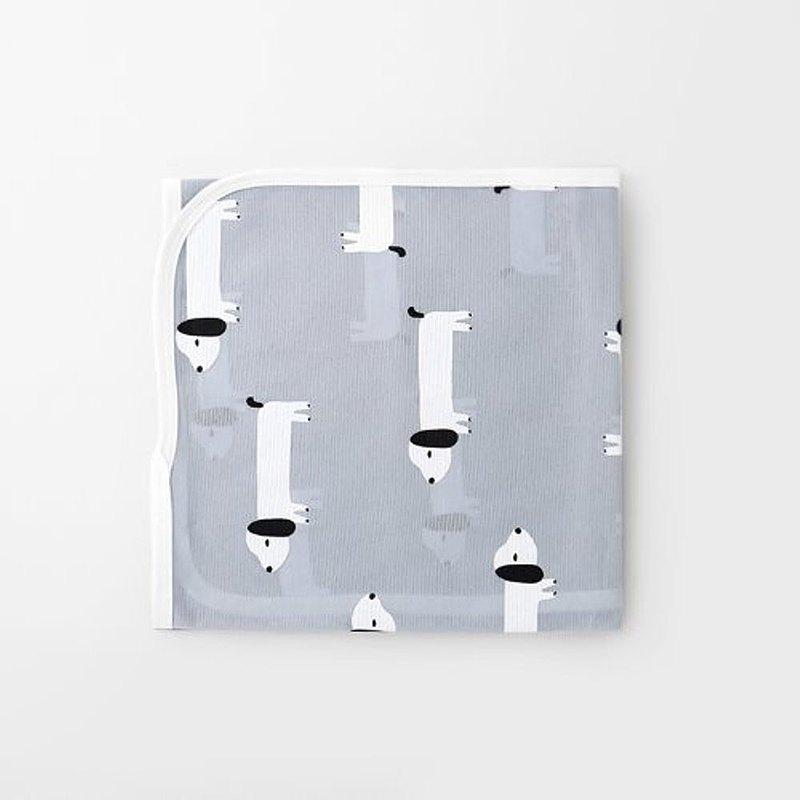 Merebe嬰兒包巾蓋毯 ( 小狗圖案 )