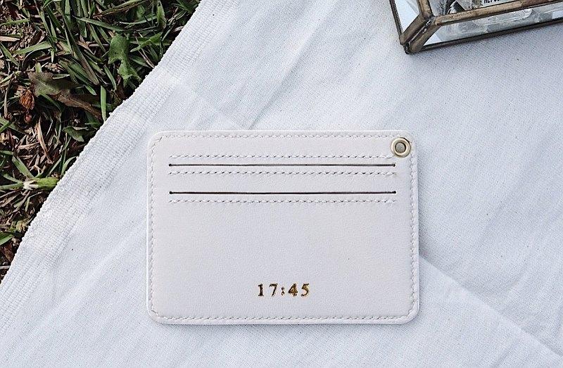 2+1手掛卡夾(白色)