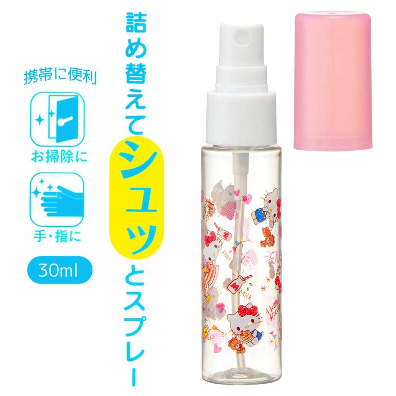 隨身透明噴霧空瓶 30ml 凱蒂貓 HELLO KITTY 三麗鷗 Sanrio 日本進口正版授權