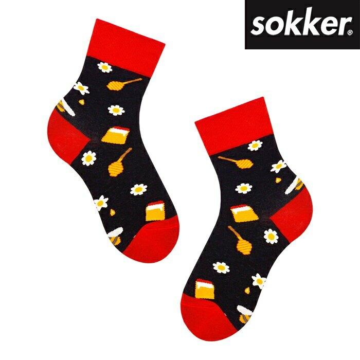 sokker 甜蜜花蜂4分之3襪(M) 比漾廣場【比漾廣場】