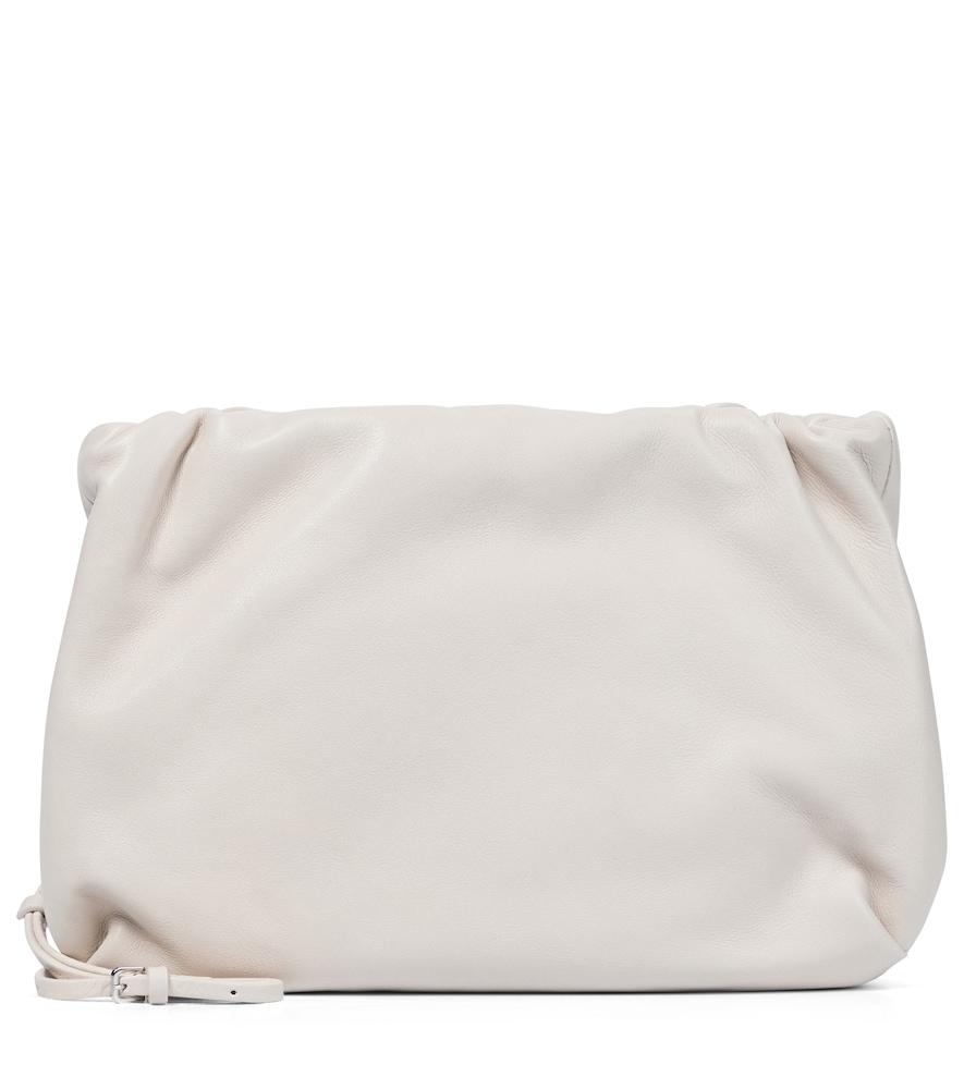 Bourse leather clutch