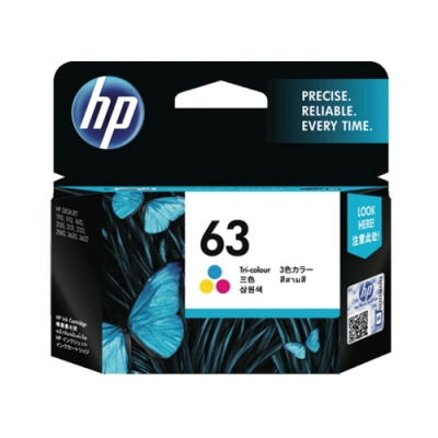 HP NO.63 F6U61AA 彩色 原廠墨水匣