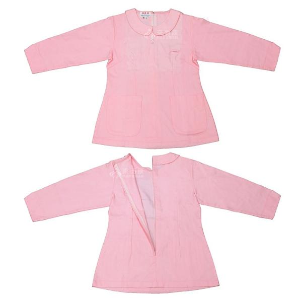 來而康 園麗 G201 圓領護士服 七分袖 上衣 M號 粉紅